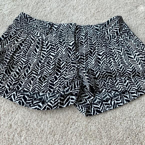 Express Pants - Express Zebra Print Shorts